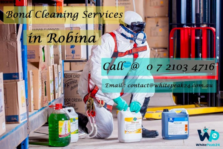 Bond Cleaning Services in Robina