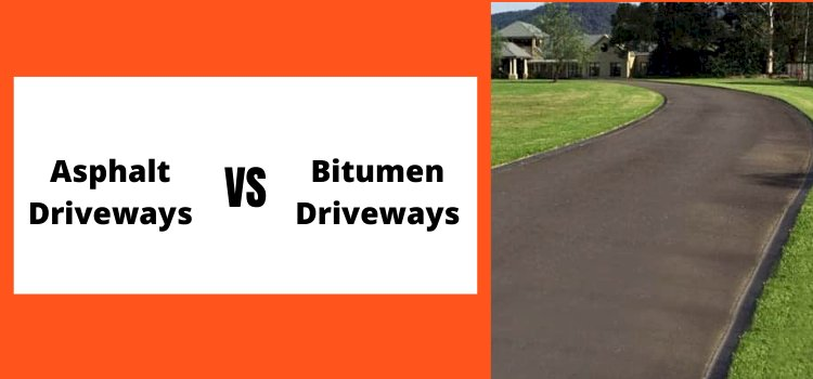 What Is The Difference Between Asphalt & Bitumen Driveways?