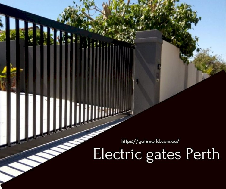 Here are the advantages of installing automatic gates