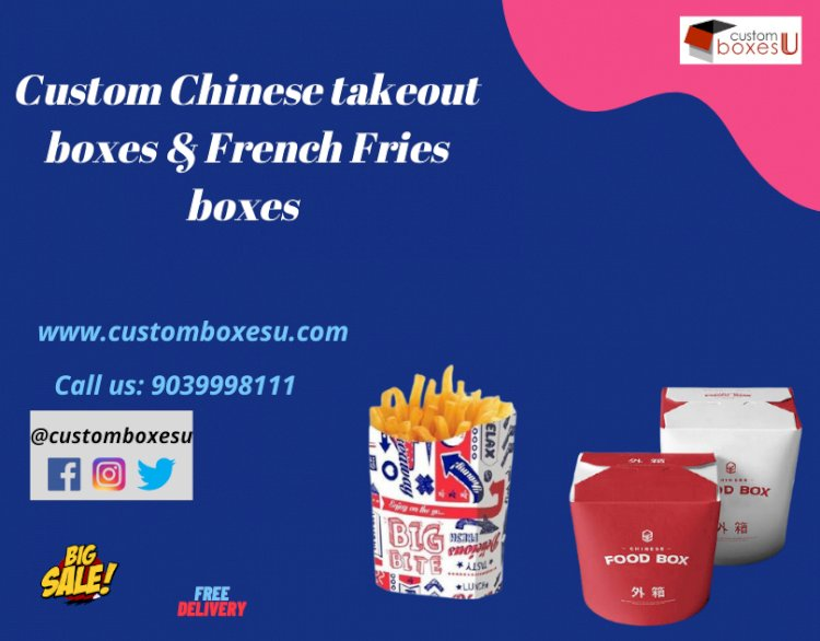 Durable Chinese takeout boxes & French Fries boxes in USA