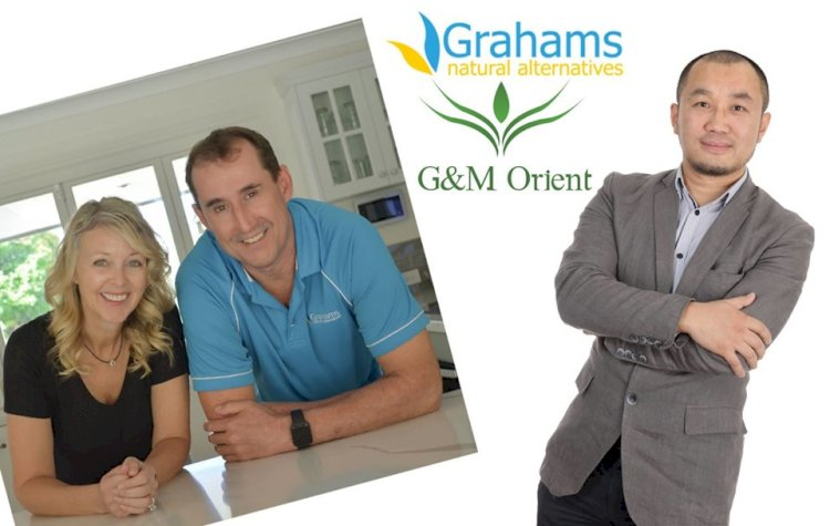 G&M Orient and Grahams natural alternatives brand sign sole distribution deal